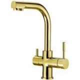 Кран комбинированный Raifil NKD 0212 BG яркое золото