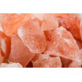 Гималайская соль для бани кусковая 1 кг (мелкая фракция)