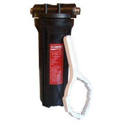 """Магистральный фильтр Aquapost Hot SL-10"""" 3/4"""" черный, для г/в - 1"""