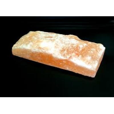 Солевая плитка 2,5*10*20 одна сторона необработанная - 1