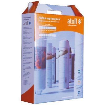 Комплект картриджей Atoll №204 для A-550 Box, А-575 Box - 1