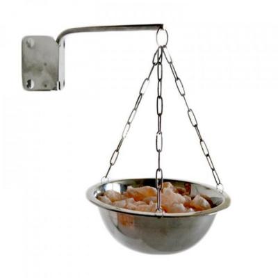 Гималайская соль для бани кусковая 1 кг (мелкая фракция) - 1