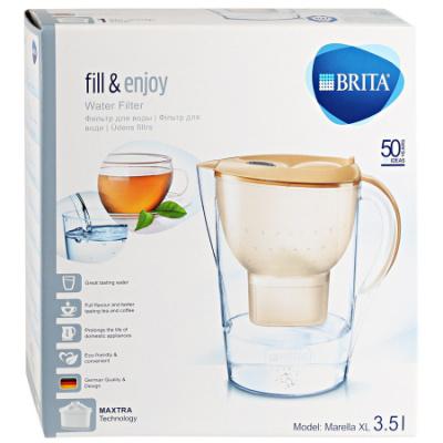 Фильтр-кувшин Brita Marella XL капучино - 1