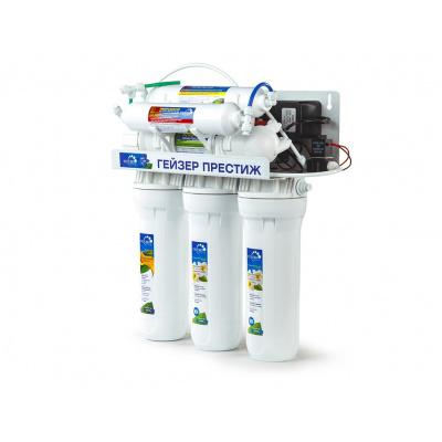 Система обратного осмоса Гейзер Престиж ПМ с помпой и минерализатором - 1