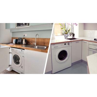 Установка стиральной машины - 1