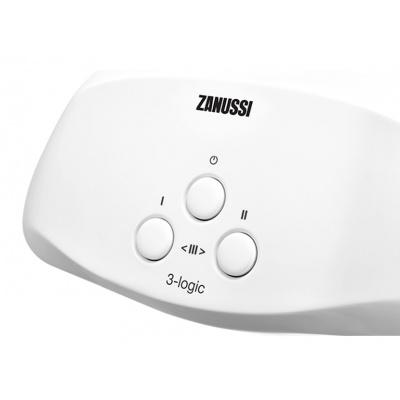 Проточный водонагреватель Zanussi 3-logic 3,5 S (душ) - 1