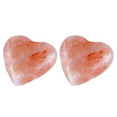 Соляное мыло (Гималайская каменная соль для ванны) в виде сердца 150-200 г. - 1
