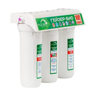 Проточный фильтр Гейзер Био 341 для железистой воды - 1