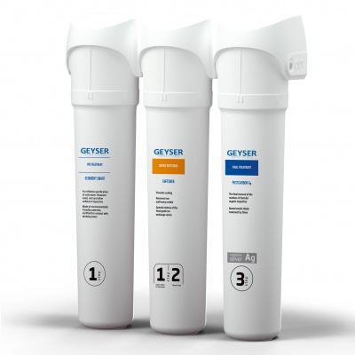 Проточный фильтр Гейзер Смарт Комплексная очистка (кран 6) - 1