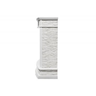 Портал Scala 30 камень сланец скалистый белый, шпон белый дуб - 1