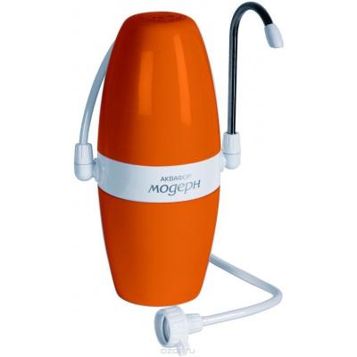 Фильтр настольный Аквафор Модерн 1 оранжевый - 1