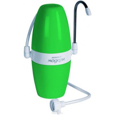 Фильтр настольный Аквафор Модерн 4 умягчающий зеленый - 1