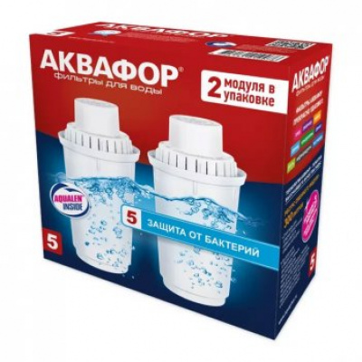 Комплект картриджей Аквафор В5, 2 штуки - 1