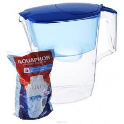 Фильтр-кувшин Аквафор Гратис 5 синий кобальт - 1