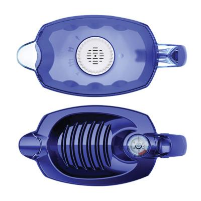 Фильтр-кувшин Аквафор Престиж 5 синий, с индикатором - 1